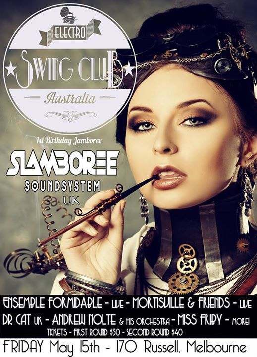 Blunderbuss Jones and Dandelion Jackson at Electro Swing Club Melbourne.